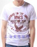 圆领广告衫T-034