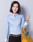 女商务长袖衬衫CWC-002,衬衫定做,定制衬衫