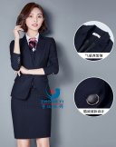 女商务西服XN-077,上海定制西服厂家